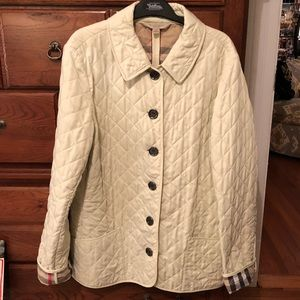 Burberry Brit Mint Green Jacket...GREAT condition!